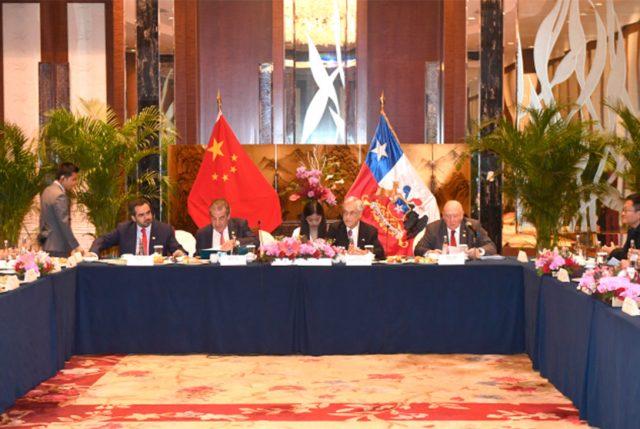 Presidente Piñera se reunió con el presidente de Huawei, Liang Hua