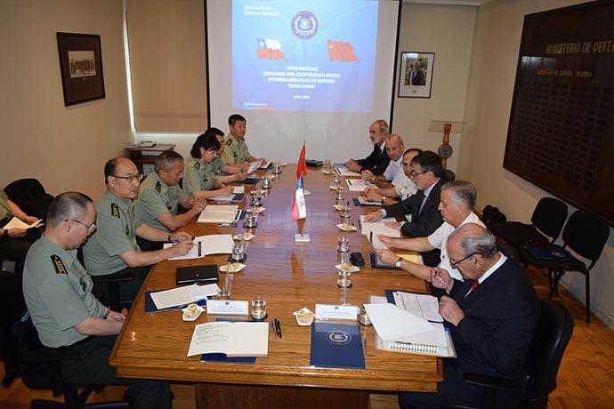 ¿Qué dirá EEUU? por la III Reunión de Cooperación en Defensa China-Chile