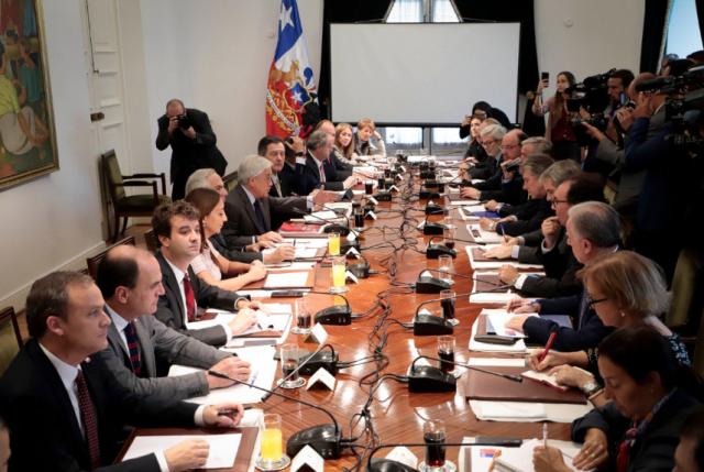 """Pdte. Piñera pide a ministros reconocer con """"honestidad"""" los errores para poder corregirlos"""