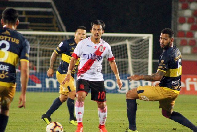 Curicó Unido rescató una valiosa igualdad en los minutos finales ante Everton