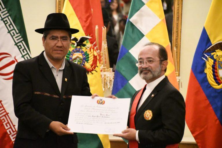 Bolivia busca estrechar más relación con Irán