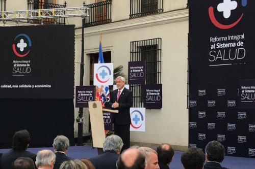 Pdte. Piñera da a conocer ambicioso plan que reforma Fonasa e isapres