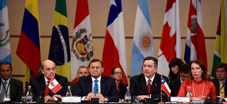 Grupo de Lima en Santiago endurece postura contra Venezuela y piden a comunidad internacional más sanciones contra Maduro