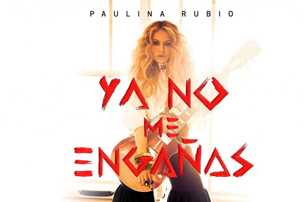 "Paulina Rubio presenta su nuevo single ""No Me Engaña"""
