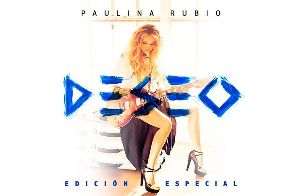 """Paulina Rubio anuncia el lanzamiento de """"Deseo"""" edición especial"""