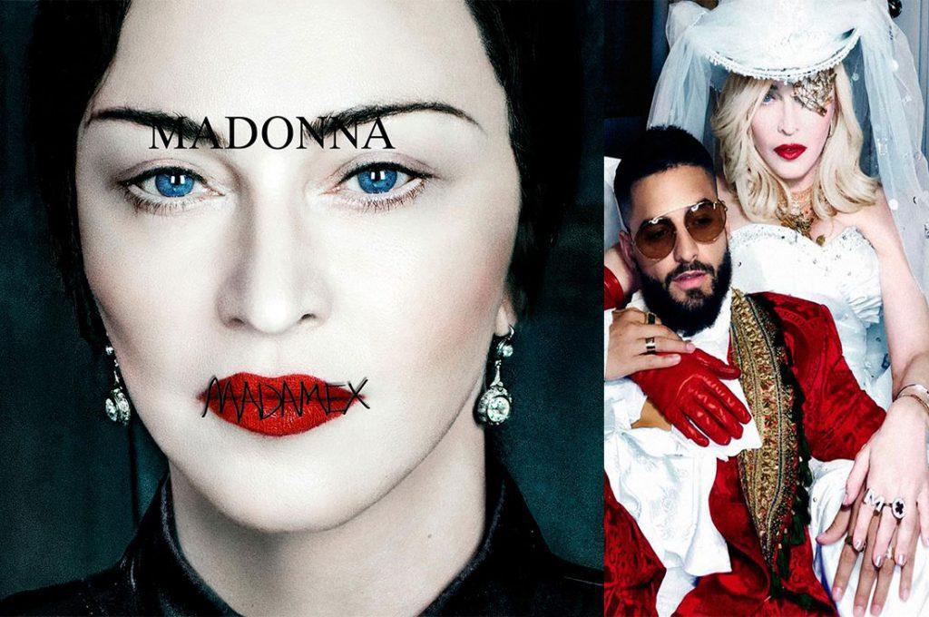 Madonna lanzó su nuevo single con colaboración de Maluma y anuncia su nuevo disco