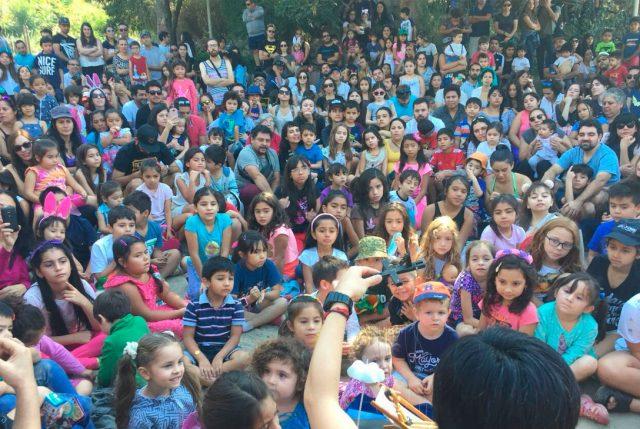 Santiago en 100 palabras te invita a buscar huevitos de chocolate y libros en el Cerro San Cristóbal