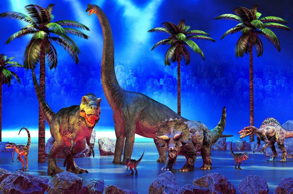 Dinosaurios Alive: Por primera vez los verás caminar en una increíble muestra interactiva