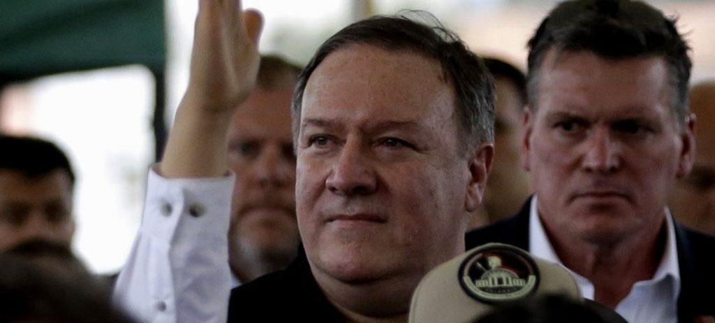 """Pompeo visita Cúcuta y manda duro mensaje a la Venezuela de Maduro: """"Puedes terminar esto hoy"""""""