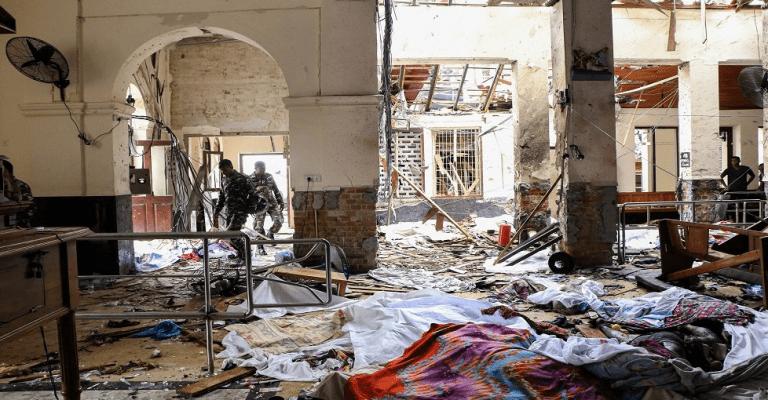 """Gobierno condena la """"criminal"""" serie de atentados en Sri Lanka"""