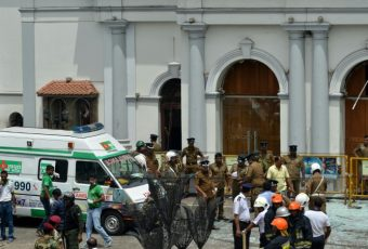 ACTUALIZADO // Sri Lanka: Terroristas del NTJ atacan hoteles e  iglesias que celebraban la Pascua. Muertos se elevan a 207