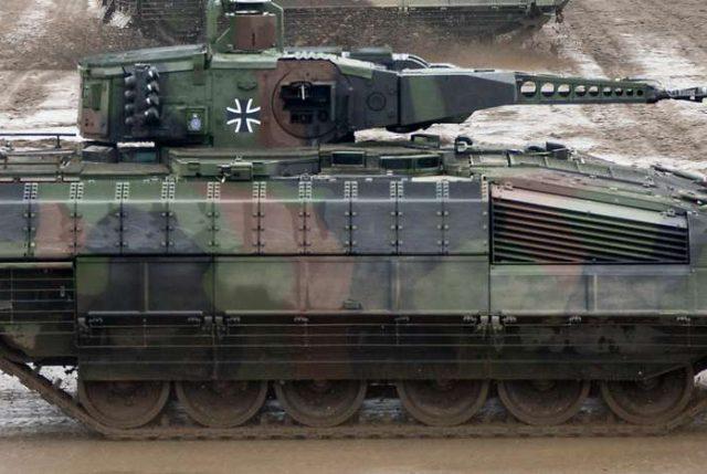 Por tercer año consecutivo, Alemania reduce la venta de armamento