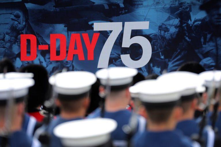 """VIDEOS // En el Reino Unido, Europa recuerda el """"Día D"""" en su 75° aniversario"""