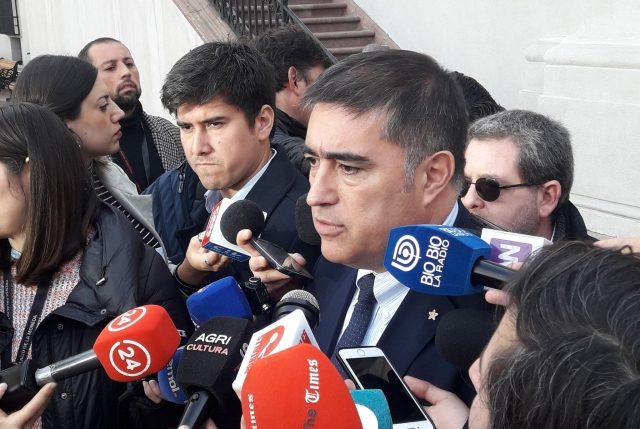 Desbordes mantiene sus dichos por reintegración y dice que hay buenas relaciones con el Gobierno