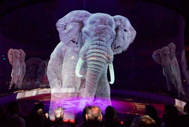 Circo alemán usa hologramas en vez de animales para crear una experiencia mágica sin crueldad
