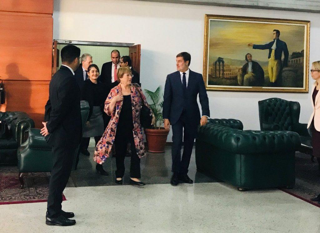 """Venezuela en Crisis //  Bachelet llega a Caracas: """"Espero escuchar todas las voces"""""""