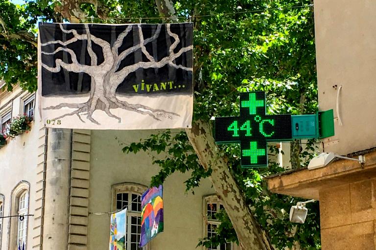 Francia y España se queman bajo temperaturas abrazadoras: 45,9° C