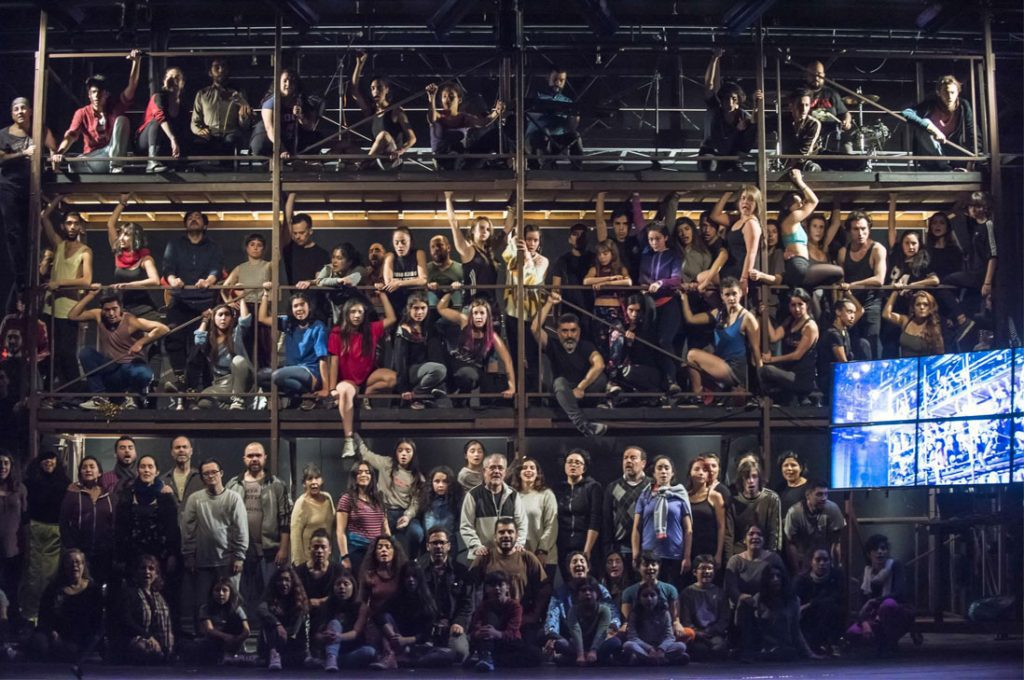 Musical sobre Jorge González con más de 100 intérpretes
