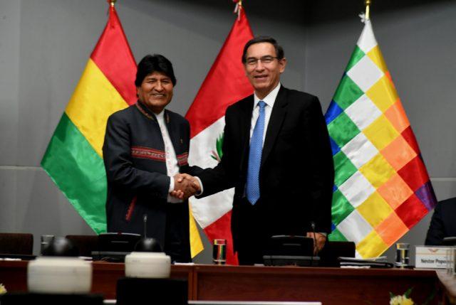 Evo en Ilo va por MEGA PUERTO para Perú, Bolivia y Brasil y NO USAR PUERTOS CHILENOS