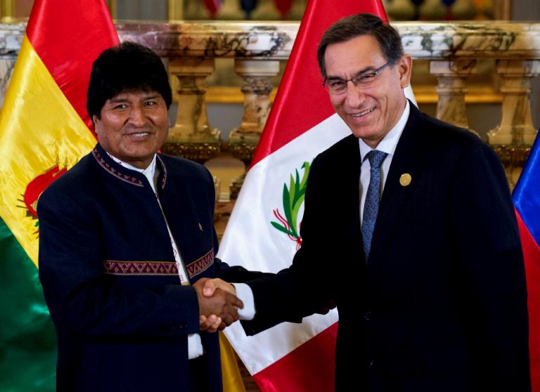 Presidentes de Bolivia y Perú se reúnen en Ilo para potenciar -por enésima vez- este puerto para NO USAR puertos chilenos