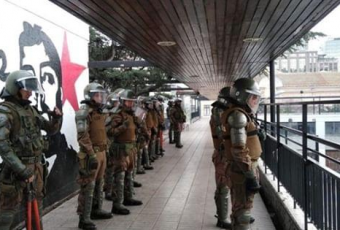 Gobierno rechaza uso de molotov en el IN y grupos de DDHH se oponen al ingreso de Carabineros