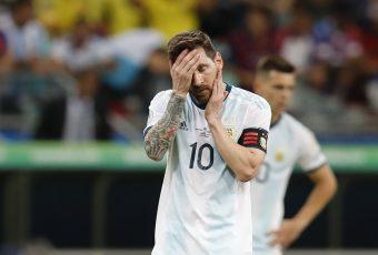 Copa América: Colombia pasa por encima de la Argentina con Messi a la baja