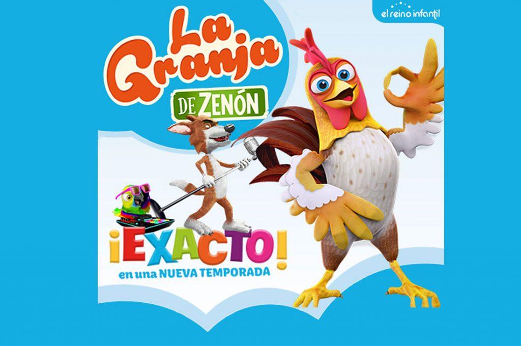 La Granja de Zenón llega a Chile en un gran espectáculo familiar