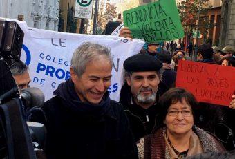 Liberan a presidente de los Profesores: Mañana serán recibidos por ministra Cubillos