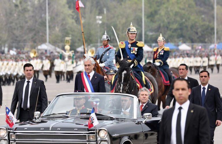 Cuenta Pública: Piñera insiste en que FFAA están bajo mando civil y que hay que reconstruir confianzas