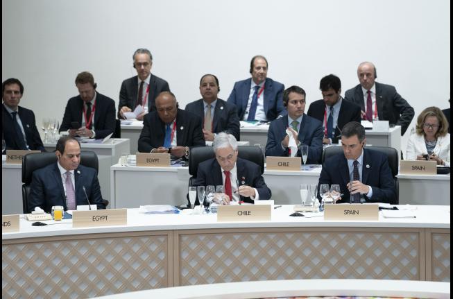 Piñera advierte en cumbre G20 que el proteccionismo debilita la economía mundial
