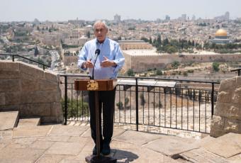 Presidente Piñera inicia compleja visita a Israel y Palestina en momentos de alta tensión en Oriente Medio