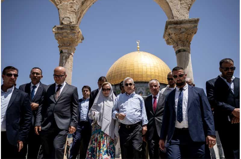 Poca delicadeza israelí: Israel se molesta y reprende al Presidente Piñera por visitar Explanada de las Mezquitas con (supuesta) autoridad de Palestina