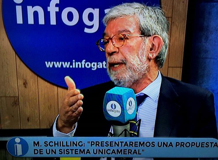 Diputado Schilling emplaza al Presidente Piñera a bajar número de parlamentarios y dieta parlamentaria