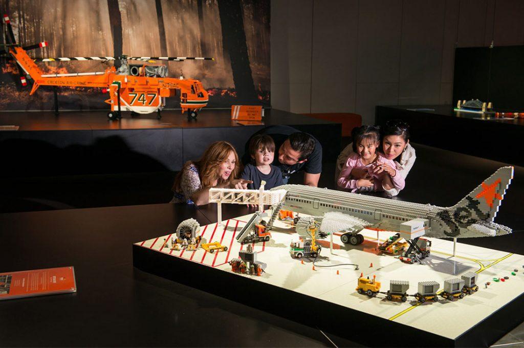 Fascinantes obras de LEGO a gran escala se exhibirán por primera vez en Chile