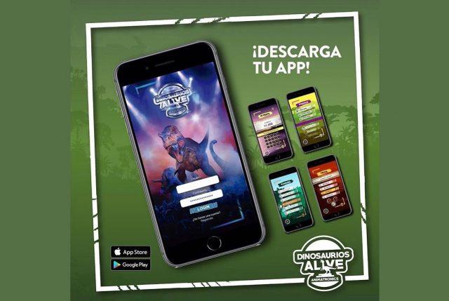Dinosaurios Alive tendrá su propia app para interactuar con ellos