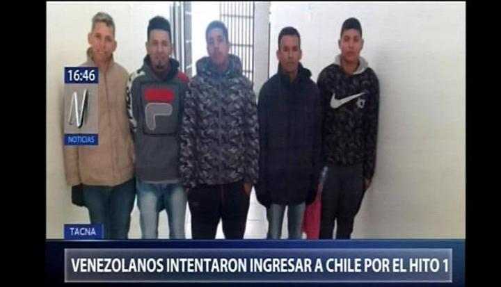 Venezolanos en Frontera Perú-Chile, son un problema para Perú: 19 venezolanos interceptados por policía peruana intentaban llegar por la costa para ingresar ilegalmente a Chile
