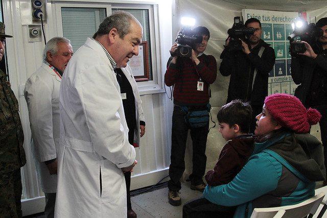 """Gobierno por salida de Castillo: """"Es parte de la formación de los equipos para fortalecer la acción de salud"""""""