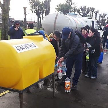 Molestia e indignación causa nuevos cortes de agua por parte de Essal en Osorno
