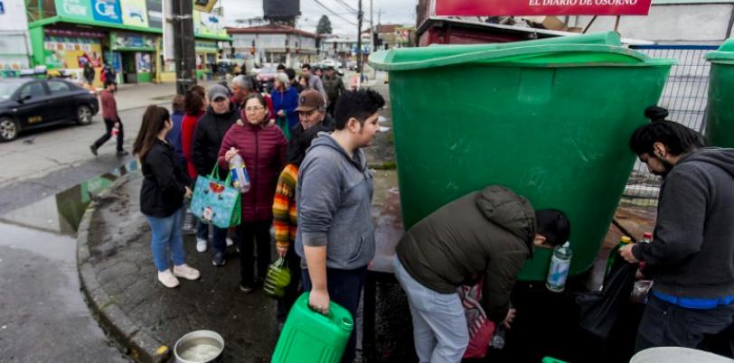 Desastre en Osorno: Minsal decreta Alerta Sanitaria luego de extenso corte de agua potable