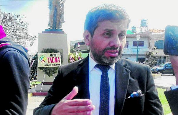 Alcalde de Arica de visita en Tacna dice que aumentó en 250% ingreso de extranjeros por pasos ilegales
