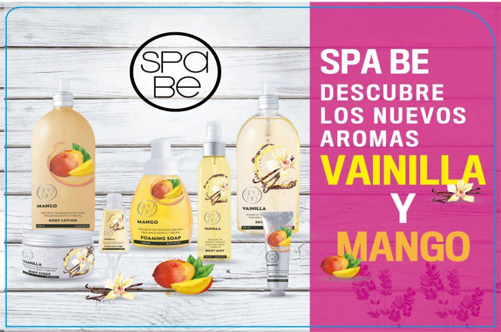 Explora tus sentidos con los nuevos productos Spa Be