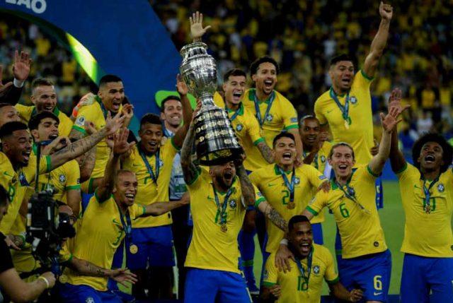 """Copa América 2019: Con olor a """"borgoña"""" Brasil sale campeón"""