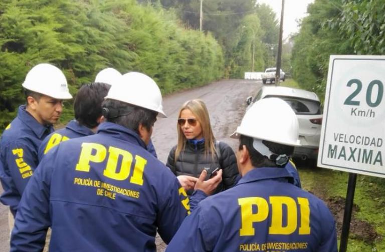 Fiscalía en planta de ESSAL reconstituye escena por corte de agua en Osorno
