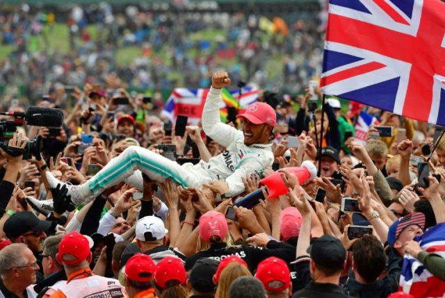 F1: Hamilton se corona campeón del Gran Premio de Gran Bretaña