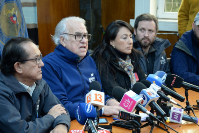 Intendente Jürguensen hace mea culpa por reacción tardía en desastre de Osorno