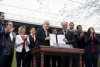 Presidente Piñera firma proyecto de ley que evita abusos en contratos de arriendo