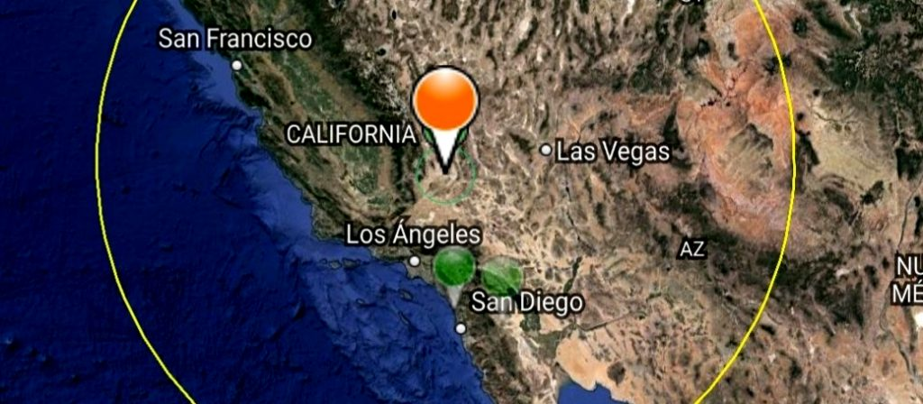 EEUU: Terremoto 6,4° Richter  remece el sur de California