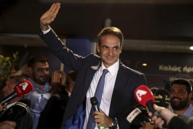 Grecia: Gana las elecciones el conservador Kyriakos Mitsotakis