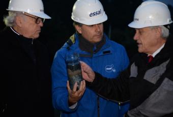 """Piñera en Osorno agradece """"resiliencia"""" de la comunidad por aguantar 6 días sin agua"""