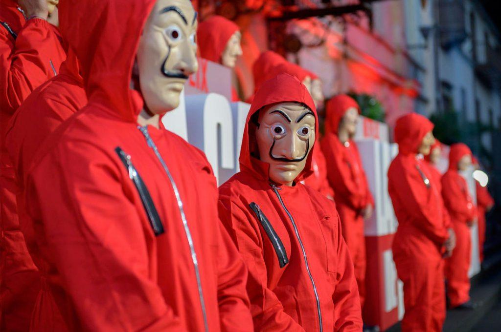 Netflix celebró en Bogotá la Premiere de las Américas de La casa de papel parte 3